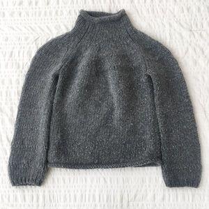 Express Lambswool/Rabbit Hair Blend Sweater M